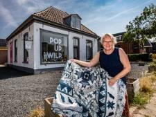 Bewogen jaar met sluiten quiltshop in Deventer, eindigt met nieuwe winkel in Wilp