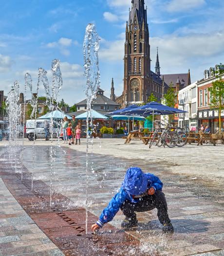 Opening van hernieuwde Markt in Veghel