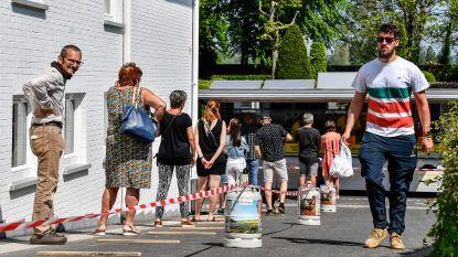 Roosenboom burgers bedient trouwe klanten vanop oprit
