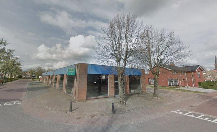 De twee betreffende lindenbomen aan de Oude Trambaan. Op de plek van het voormalige machinehandelsbedrijf De Kok moeten 12 woningen komen. De bomen moeten daarvoor wijken.