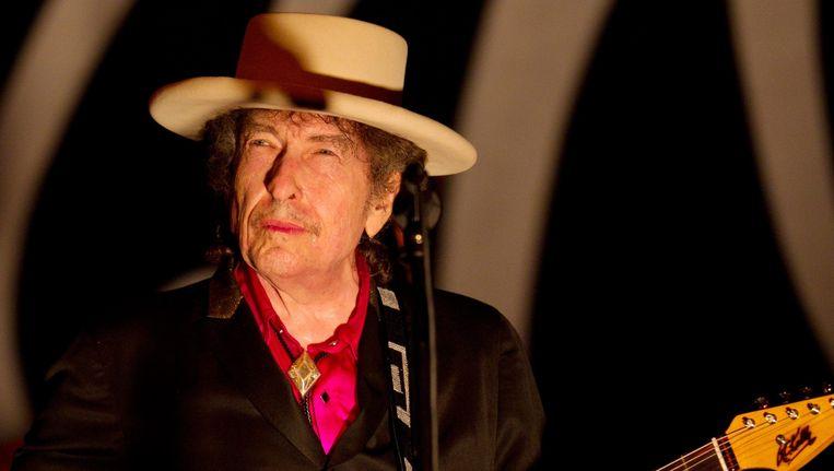 Amerikaanse muzieklegende Bob Dylan