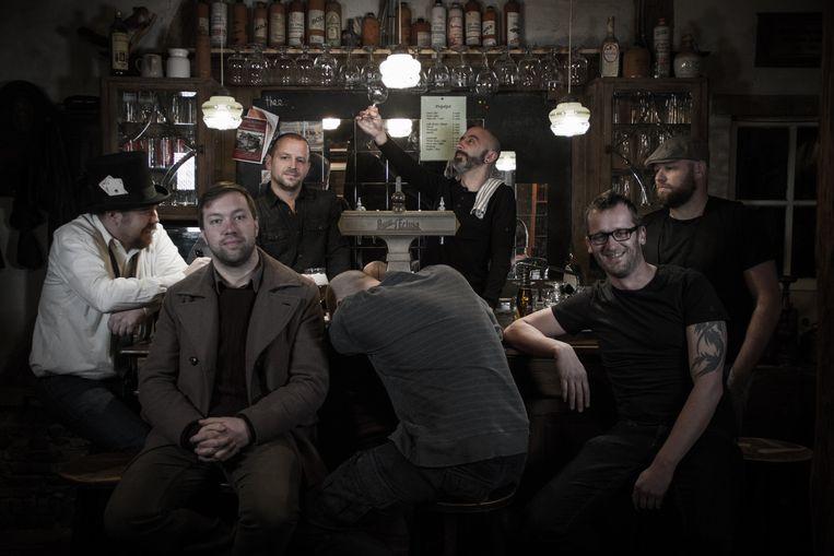 De band Circo Maximo telt zeven bandleden