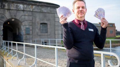 Fort van Breendonk verkoopt eigen eurobiljet