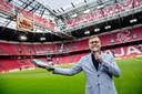 Rob van Rossum, stadionspeaker bij Ajax.