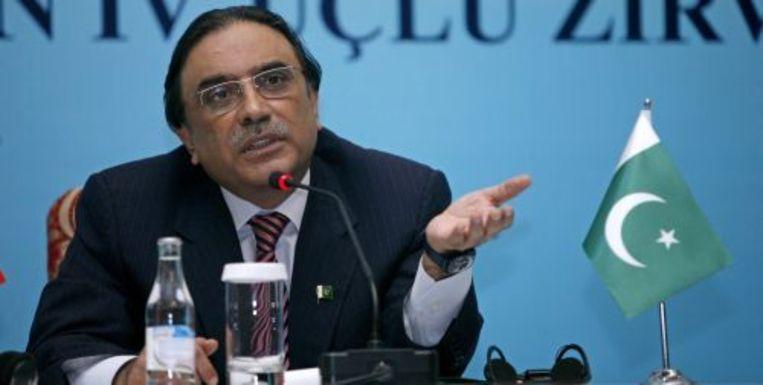Asif Ali Zardari. ANP Beeld