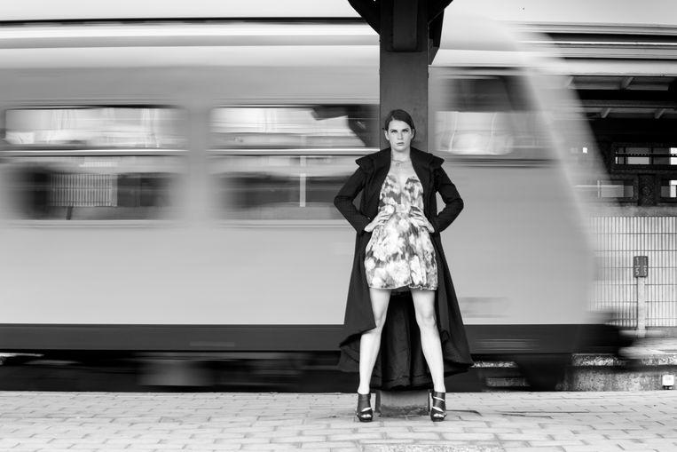 Anke uit Zemst durfde de confrontatie aangaan met haar angst voor treinen.