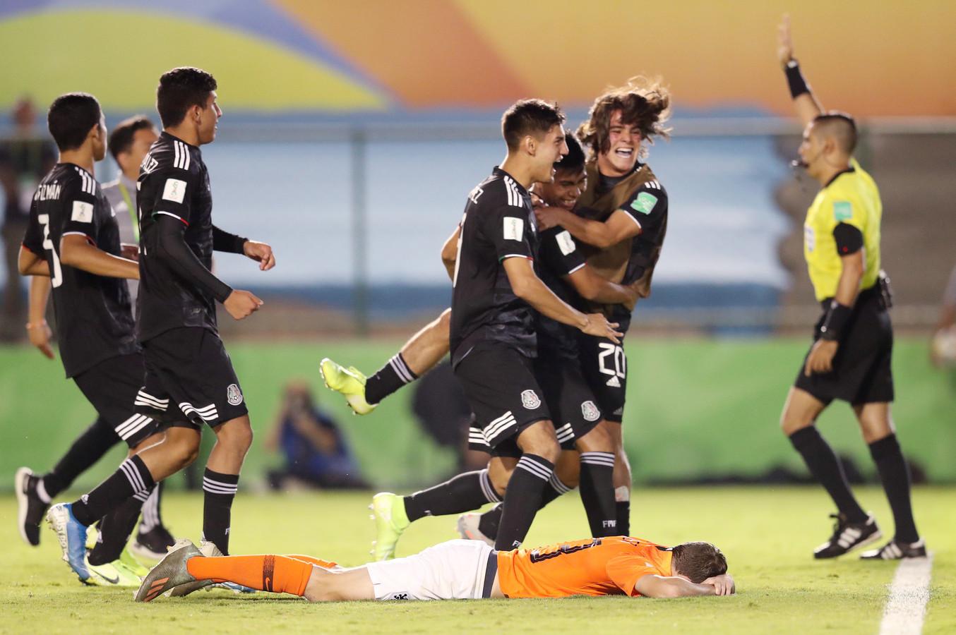 Youri Regeer heeft de laatste pingel gemist tegen Mexico.