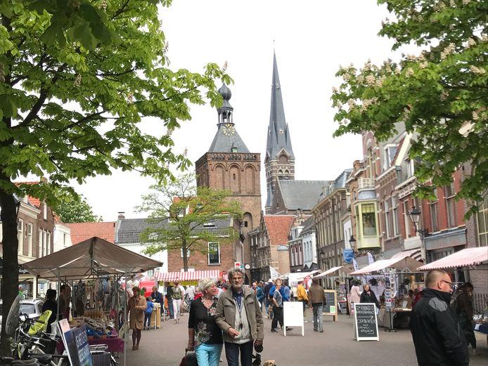 Het centrum van Culemborg. Foto ter illustratie.