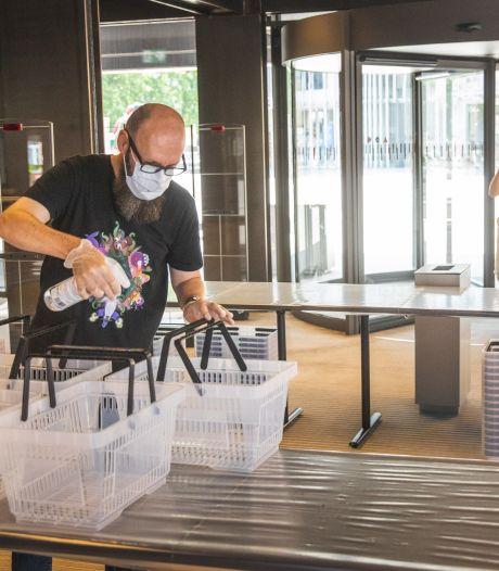 Bib De Krook opent zoals een supermarkt: met verplicht winkelmandje en maximaal 150 bezoekers in één keer