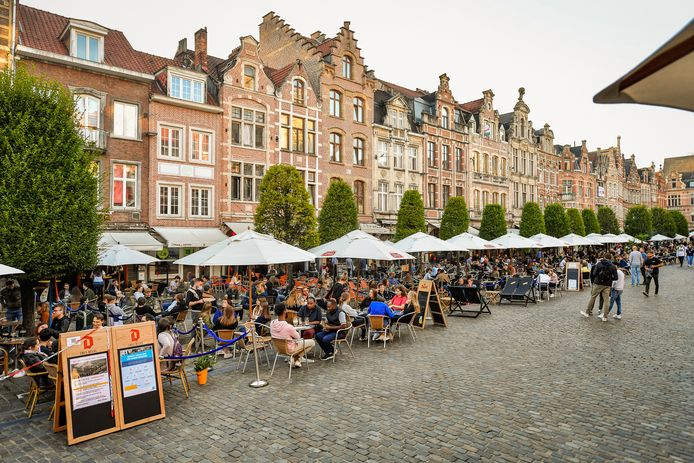 Terrasses à Louvain.