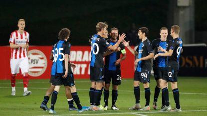 Club Brugge pakt 1-2-zege in oefenmatch tegen PSV, bekijk hier de knappe goals van Vossen en Sobol