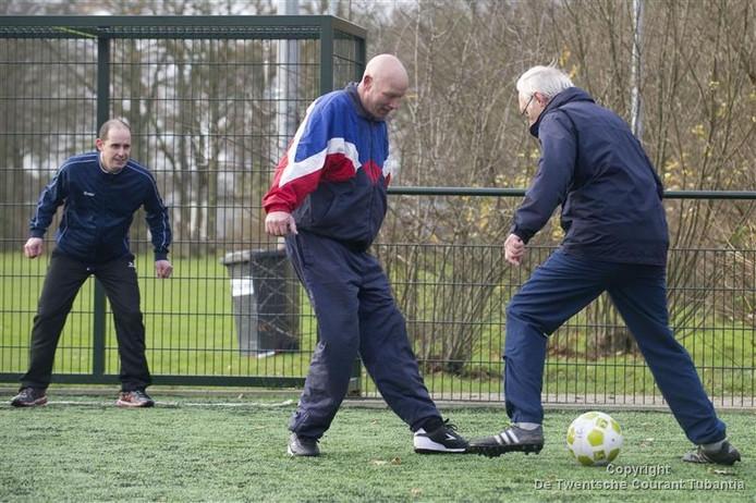 Het pannaveldje van voetbal club VV Haaksbergen