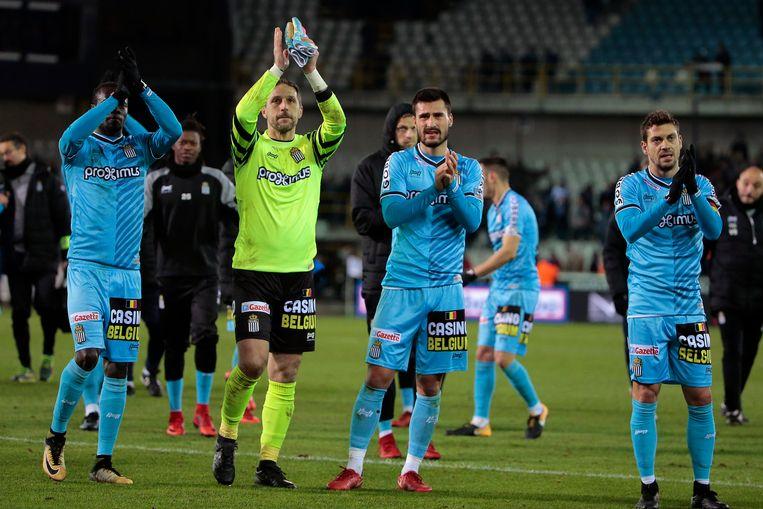 Charleroi was best tevreden met het punt.