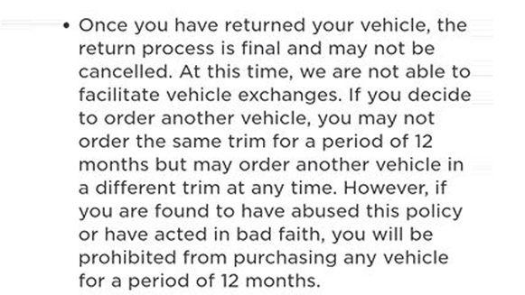 De bewuste clausule van Tesla.