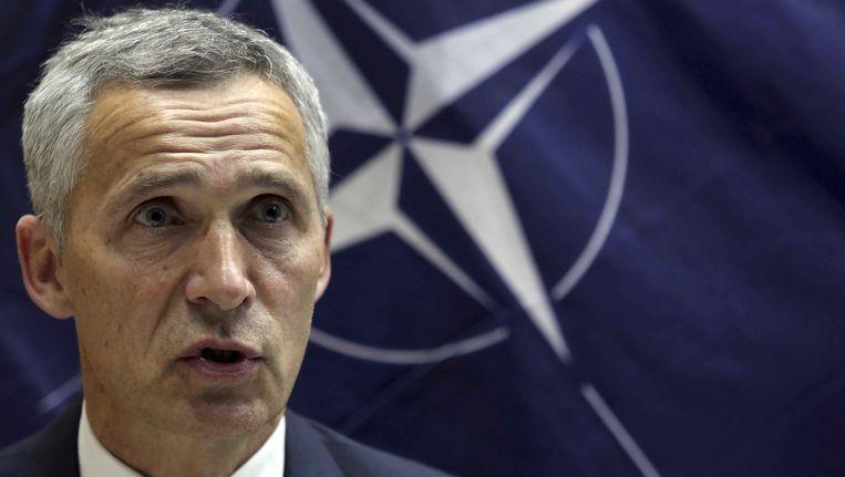 Jens Stoltenberg, secretaris-generaal van de NAVO