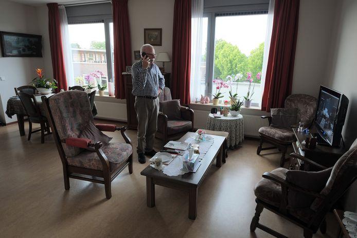 Een van de appartementen in zorgcentrum Debbeshoek in Ulft.