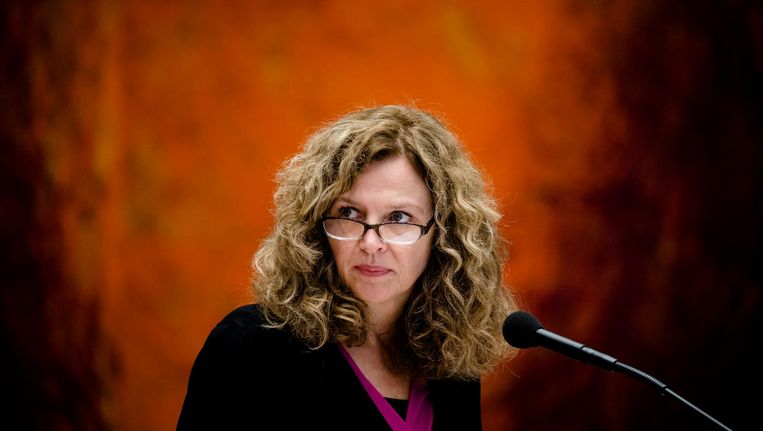 Minister Edith Schippers. Beeld anp