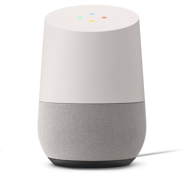 Later dit jaar brengt Google ook Home uit, een luidspreker voor in huis die spraakcommando