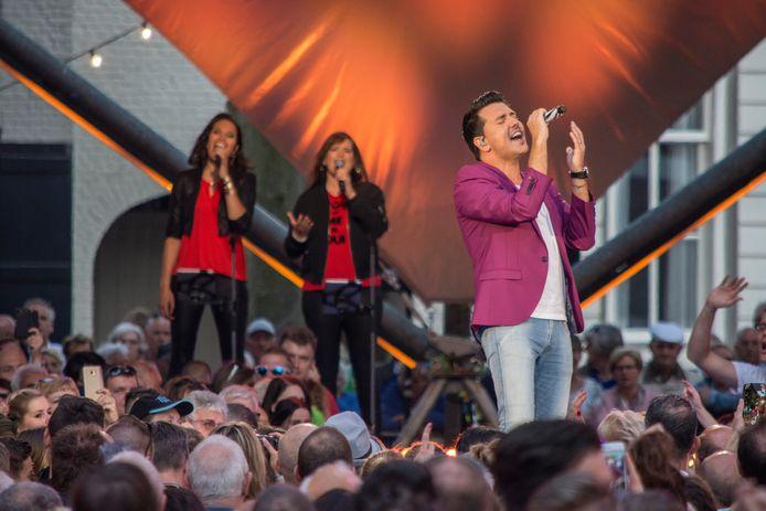 In 2017 vormde Hilvarenbeek het decor voor Muziekfeest op het Plein.
