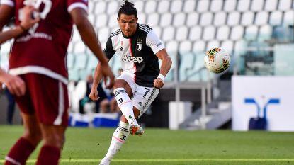 Buffon na derby alleen recordhouder met 648 Serie A-optredens, Ronaldo scoort eerste vrije trap voor Juventus