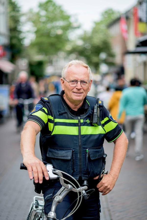 Wijkagent Bennie Visschedijk.