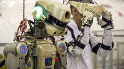 Oeps. Russische robot Fiodor pleegt plagiaat vanuit ISS