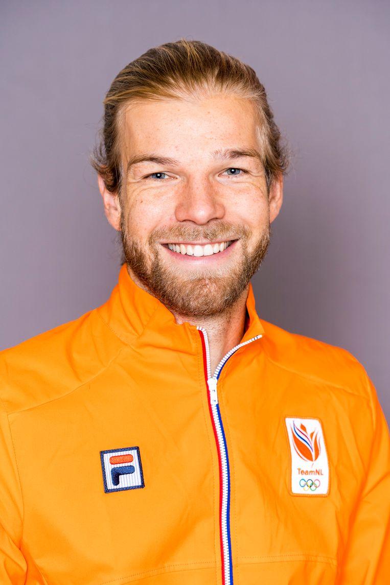 Hoogspringer Douwe Amels, voorzitter van de atletencommissie van de Atletiekunie. Beeld ANP