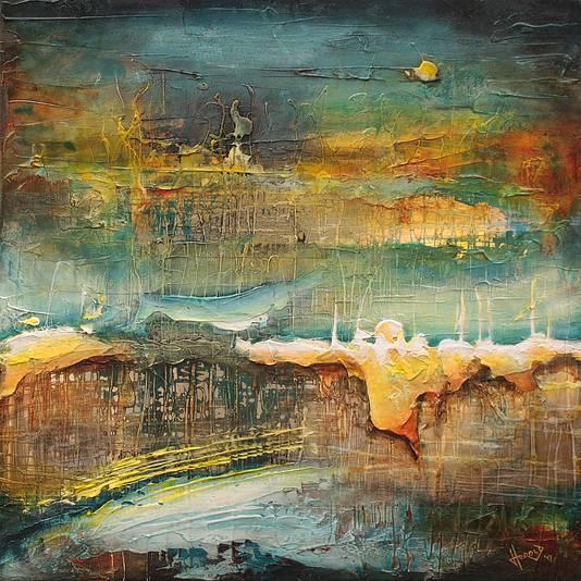 Herold Boertjens vervaardigde dit kunstwerk.