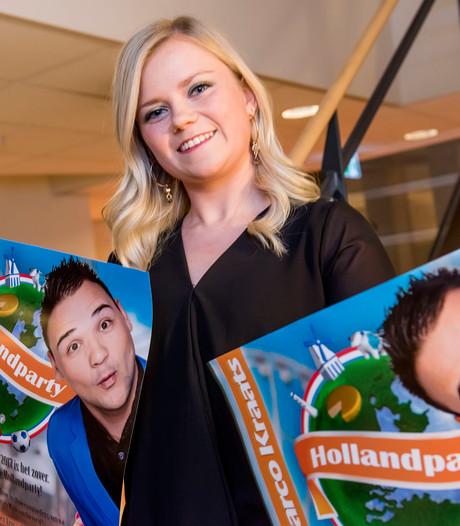 Hollandparty in Etten-Leur; 'Het levenslied leeft, bij de jeugd'