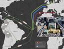 Drugskartels kiezen tijdens de coronacrisis nieuwe routes voor de export van cocaïne