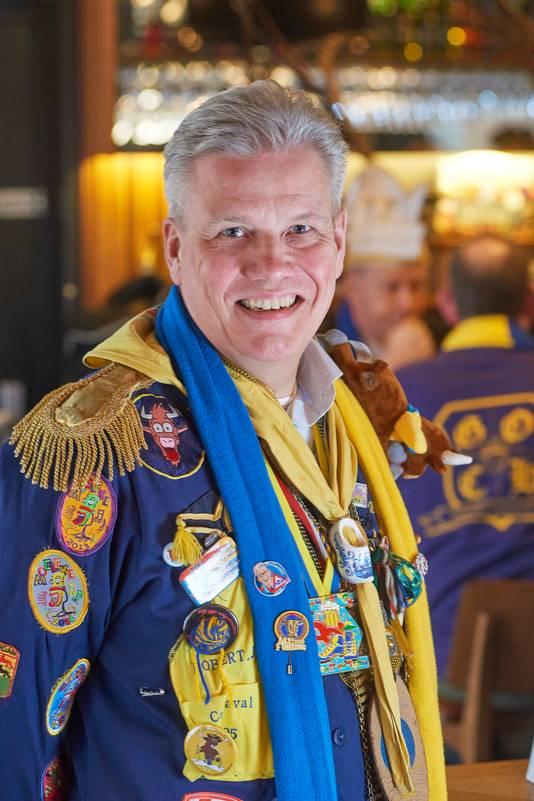 Robert Jan Steegman stopt na twaalf jaar presidentschap van Stichting CarnavalsViering Oss.
