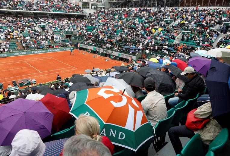 Fans zijn opnieuw welkom op Roland Garros.