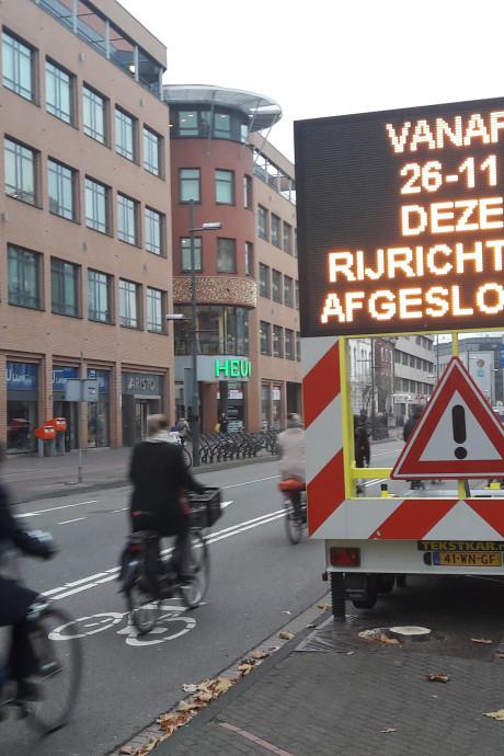 Situatie bij werk Vestdijk in Eindhoven weer drastisch anders