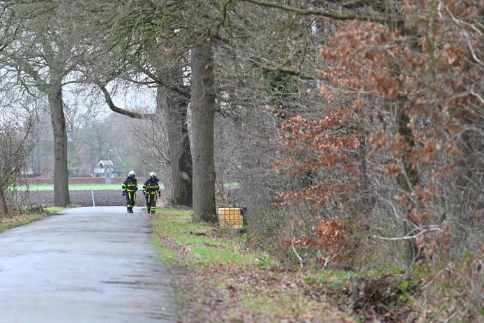 Vat met mogelijk drugsafval in buitengebied Breda.
