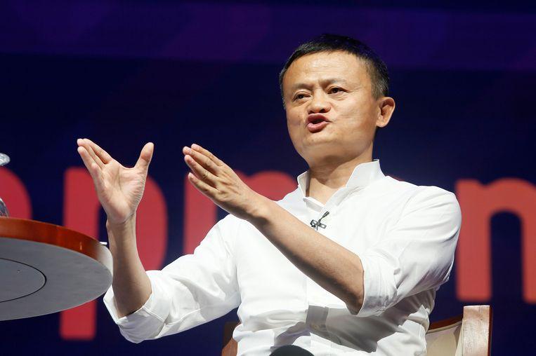 Oprichter Jack Ma.