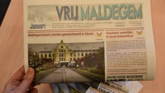 'Vrij Maldegem' wordt gemeenteblad en valt voortaan wekelijks en gratis in de brievenbus