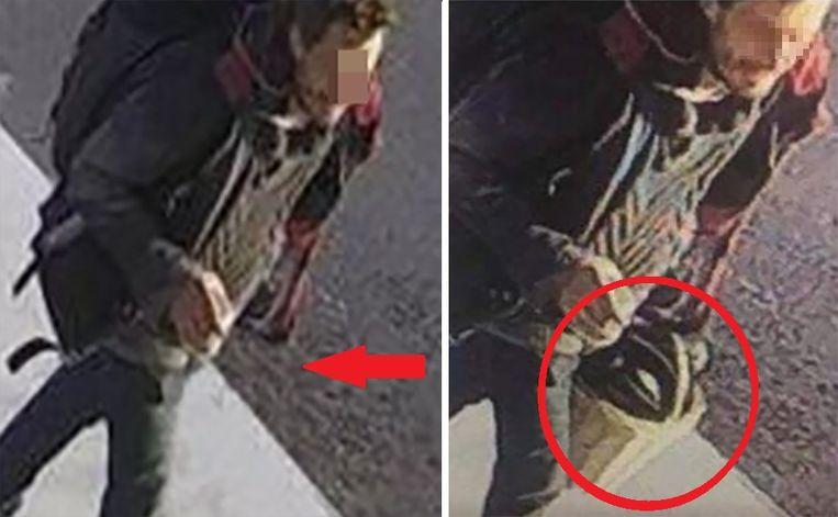 De man die verdacht wordt van moord, is geen onbekende voor het gerecht. De politie fotoshopte bewust het fietsmandje van Julie in zijn hand uit de foto voor het opsporingsbericht.