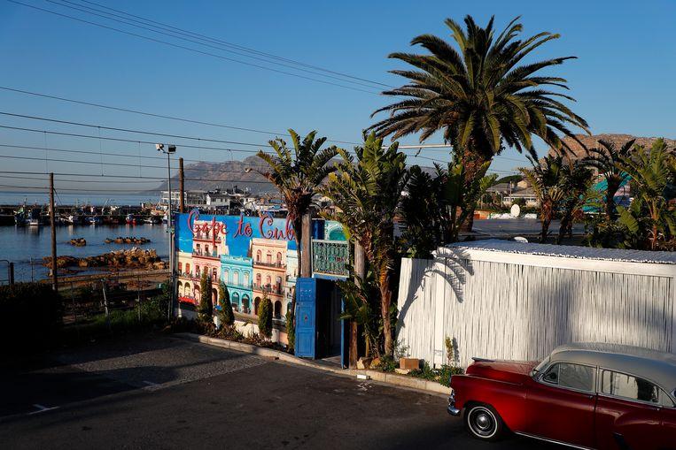 De hippe buurt Kalk Bay. Beeld EPA