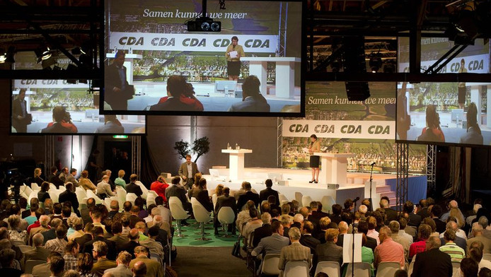 Het CDA-congres in Utrecht