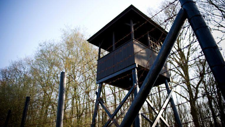 Wachtershuisje in Kamp Westerbork Beeld ANP