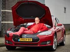 Tesla van pa 'reed te hard om noodstop te kunnen maken'