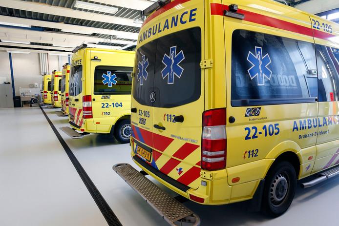 ambulance ziekenwagen ongeval ziekenhuis ziek