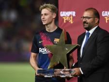 De Jong verkozen tot Man of the Match bij debuut in Camp Nou