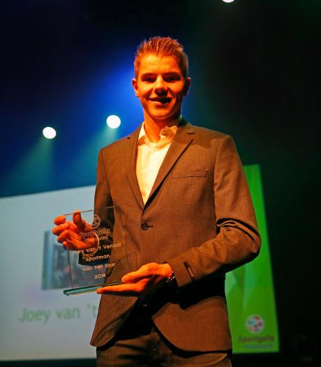Joey van 't Verlaat sportman van het jaar