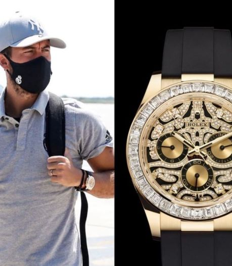 Eden Hazard repéré avec une Rolex estimée à plus de 100.000 euros