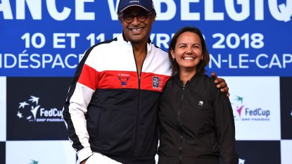 """Dominique Monami wil in Fed Cup 'revanche' tegen Yannick Noah: """"Ik ben hier met mijn leger"""""""