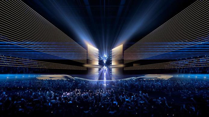 Eurovisie podiumontwerp