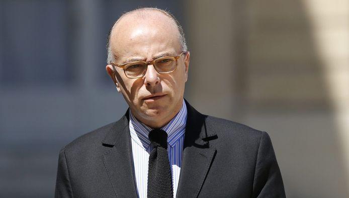 Franse minister van Binnenlandse Zaken Bernard Cazeneuve.