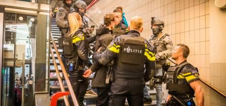 Man aangehouden na grote politieactie op station Eindhoven: 'Iedereen in de coupé moest zijn handen omhoog doen'