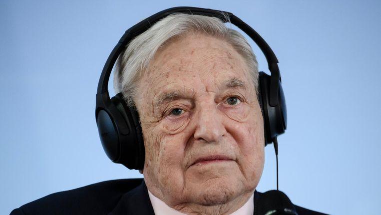 George Soros Beeld epa
